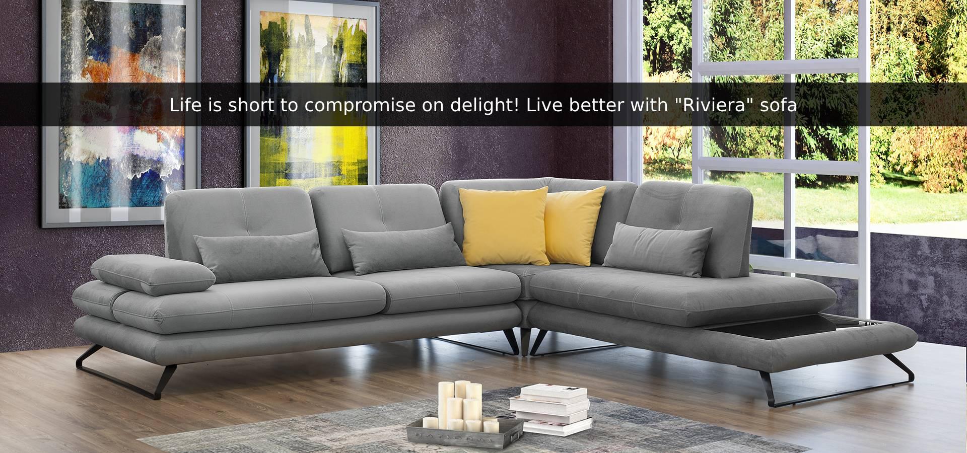 Riviera sofa