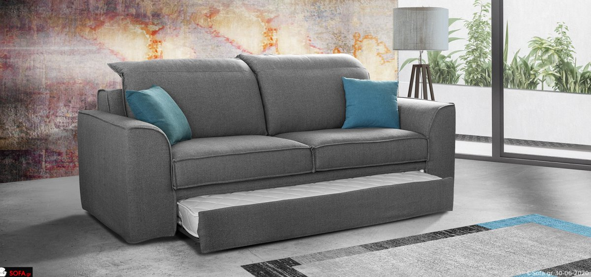 Three Seater Sofa Avana with bed mechanism