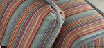 μαξιλάρια πλάτης ριγέ πολύχρωμα