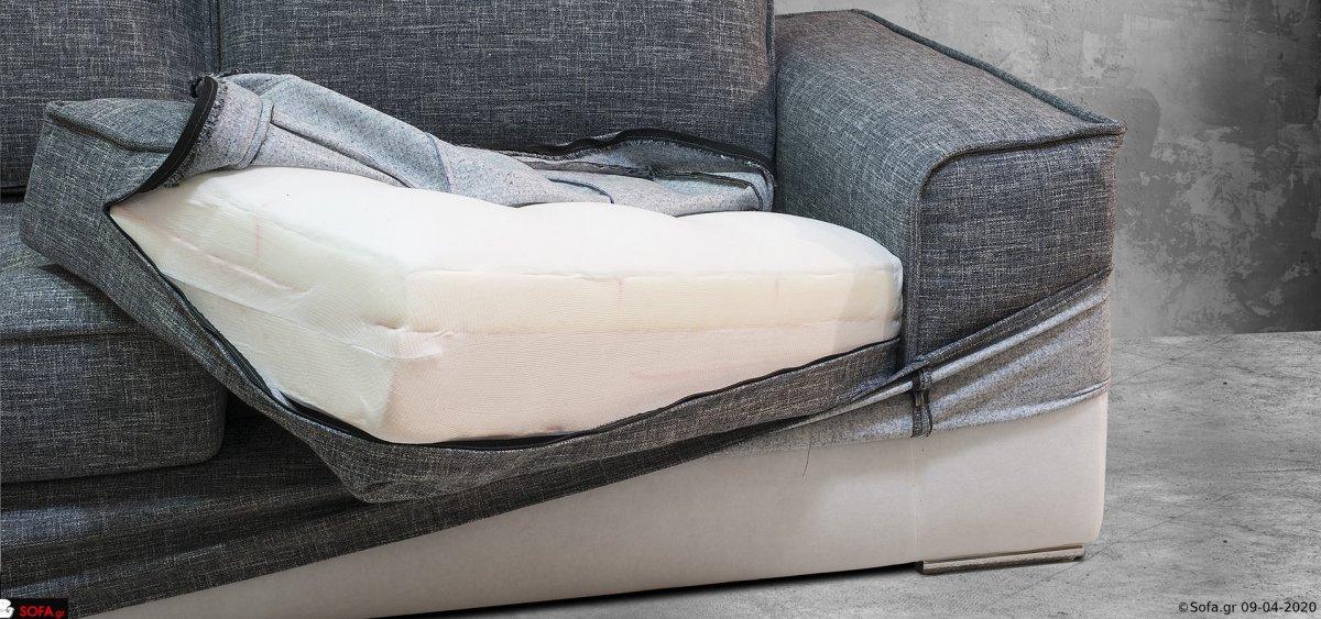 καναπές με ανακλίσεις