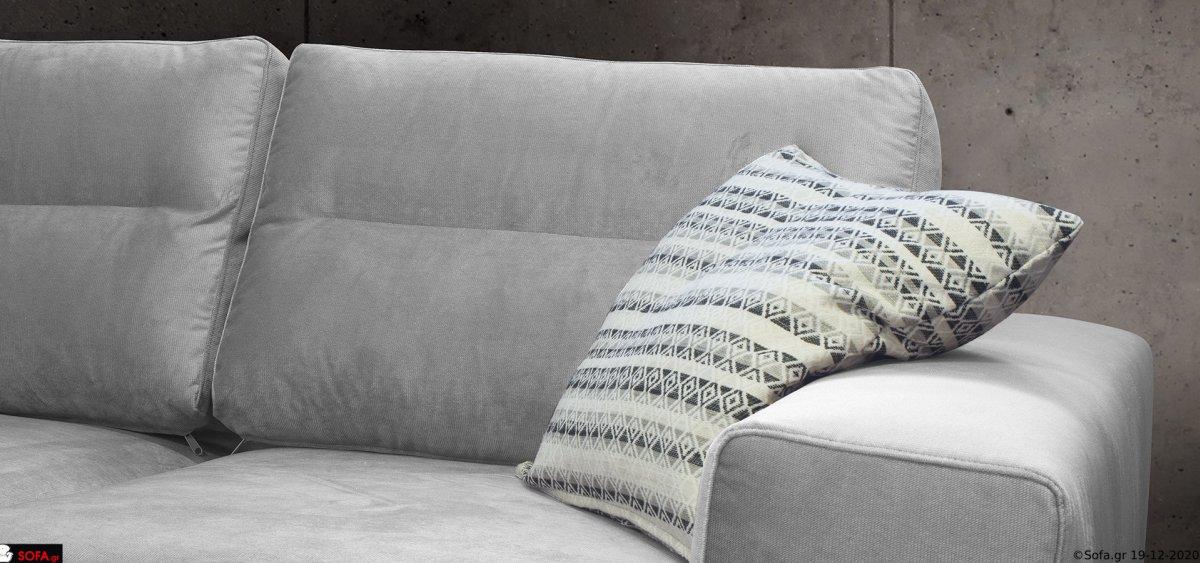Γωνιακός καναπές αμφίπλευρης τοποθέτησης