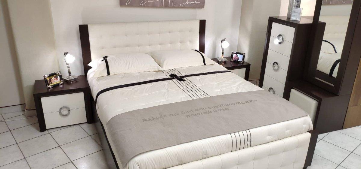 Bedroom set Iris Stock