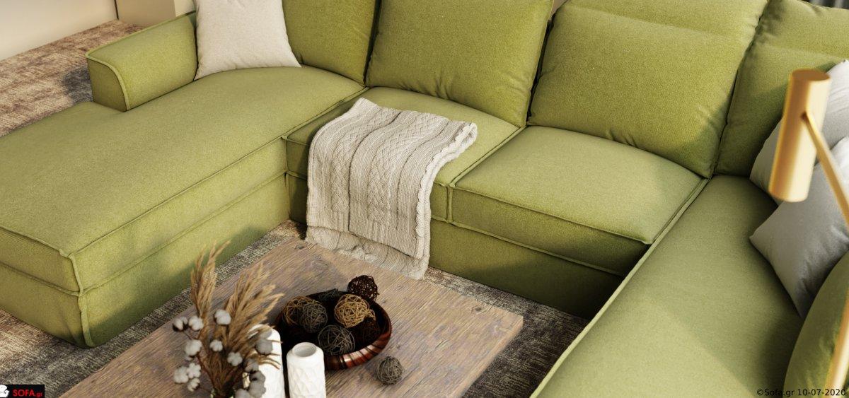 καναπές σε σχημα π