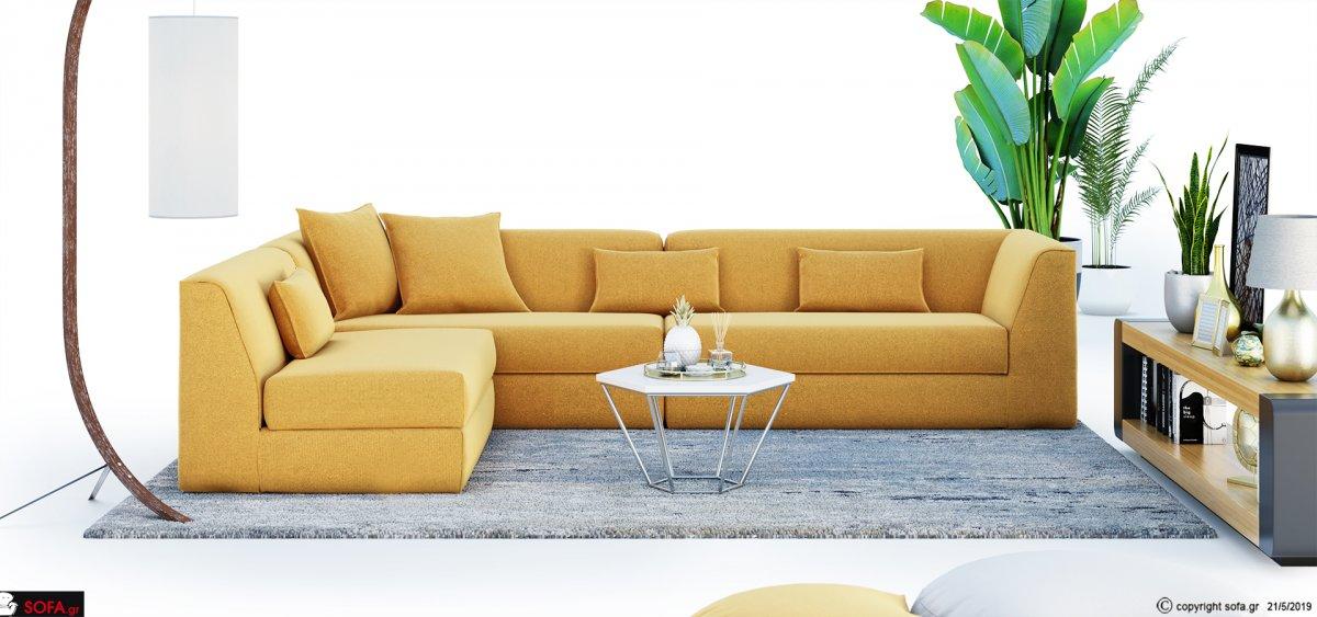 Αμφίπλευρος καναπές μοντέρνος Mambo