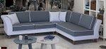 δίχρωμος καναπές