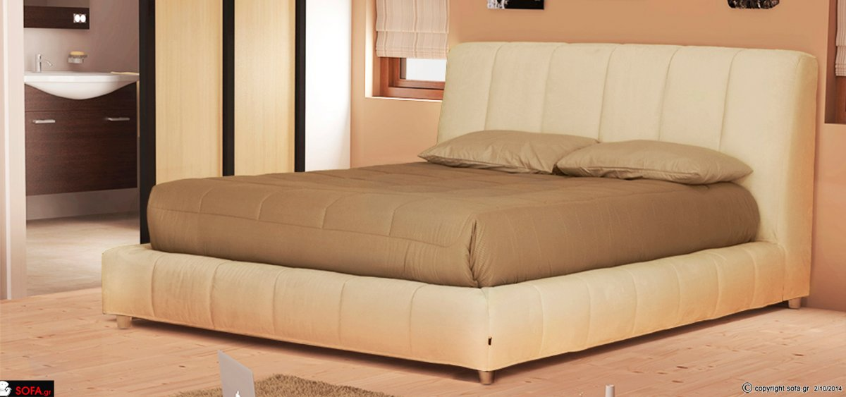 Fabric Bed Lucy