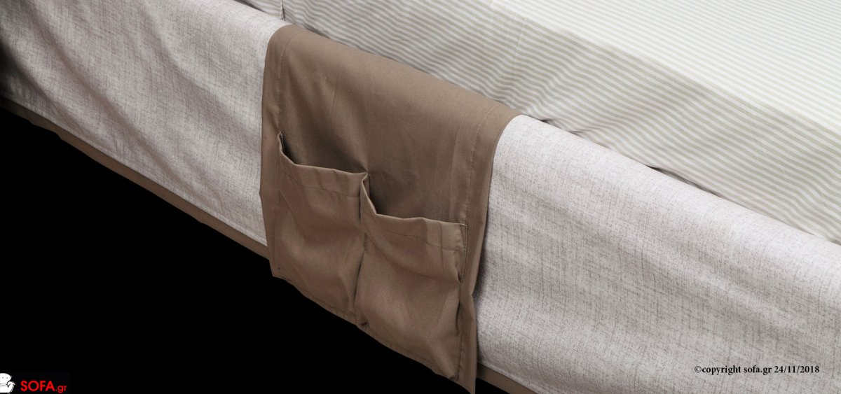 ημιμασίφ κρεβάτι με αποσπώμενο ύφσμα