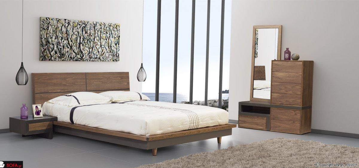 Minimal design bedroom set