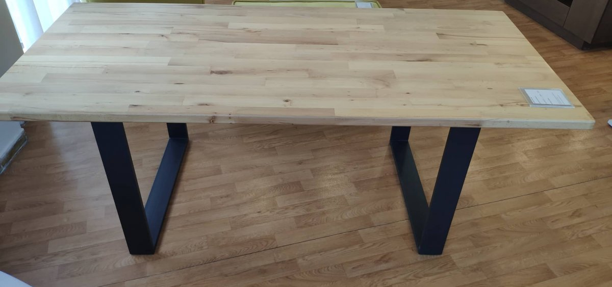 Wooden Solid table Stock