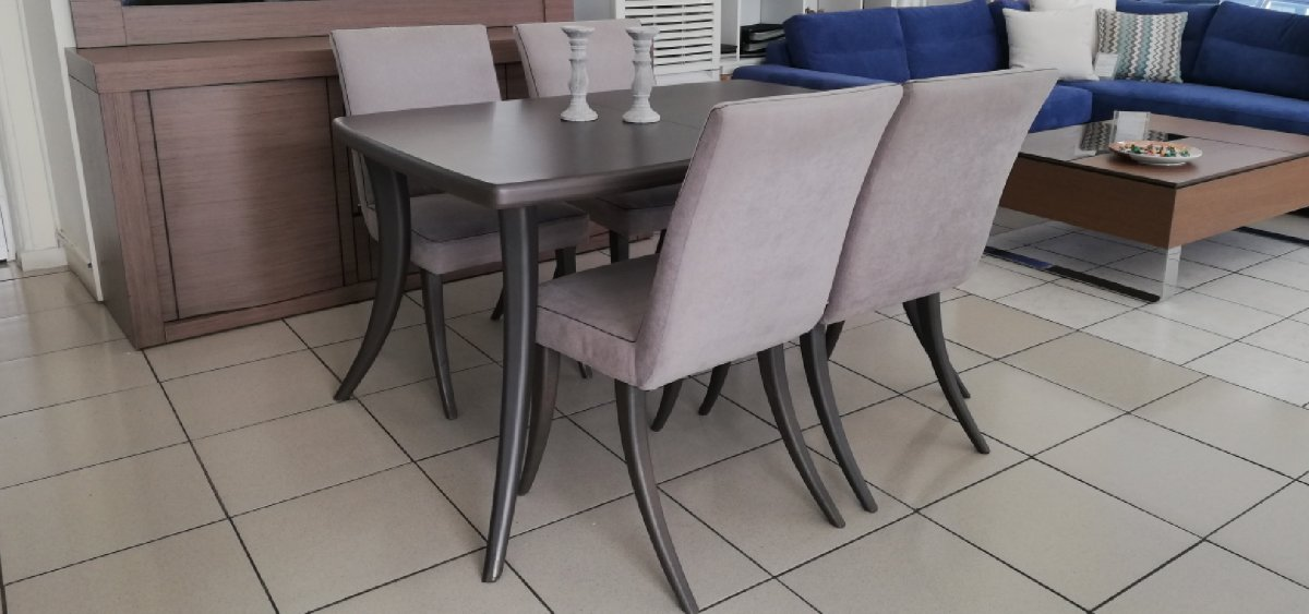 Dining table set Plaza (4 chairs) - Stock