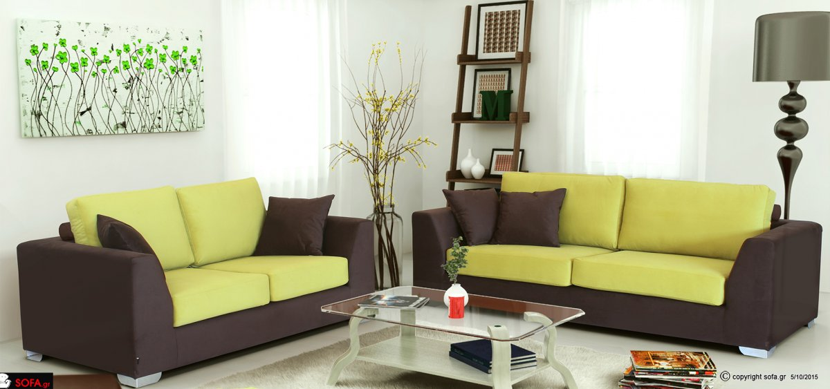 Sofa Set Caramel