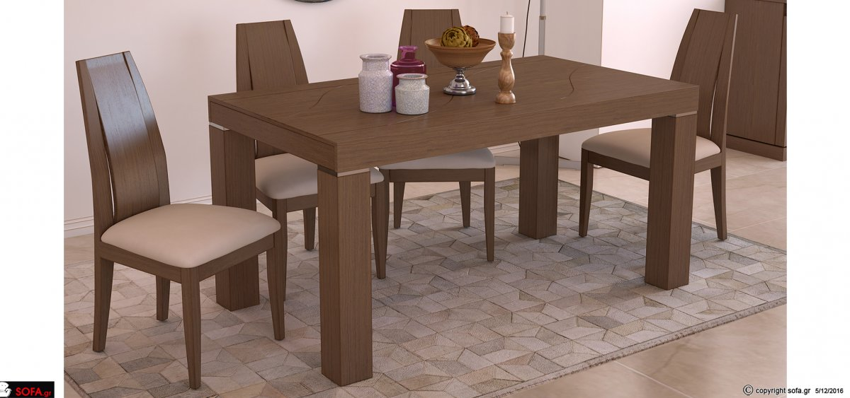 Dining table set Palermo