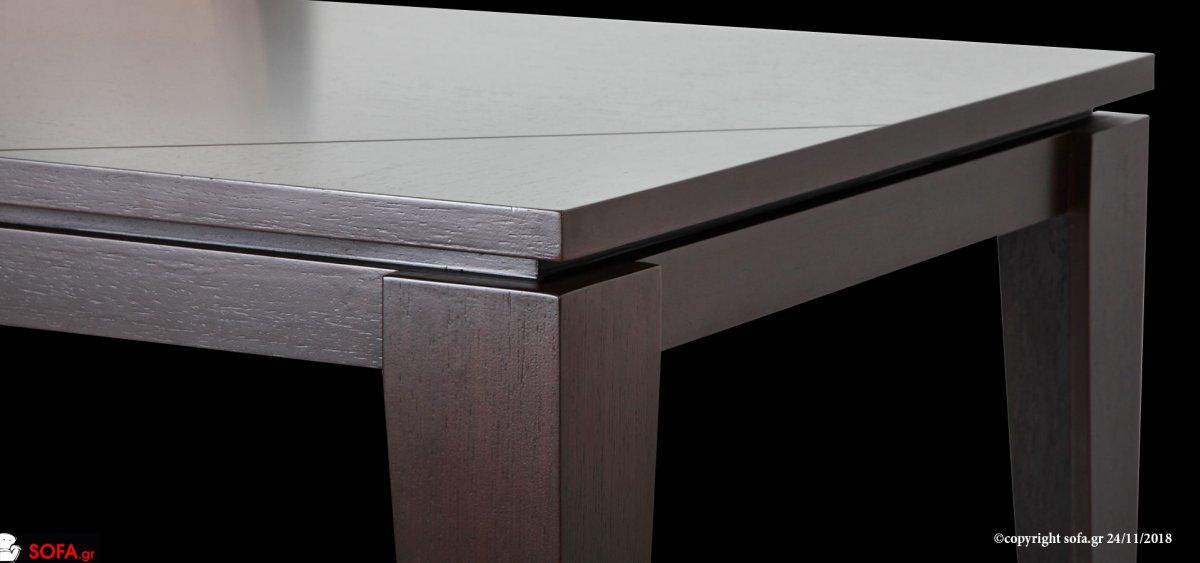 Τραπεζαρία σετ οικονομική στα 990€ με υφασμάτινες καρέκλες