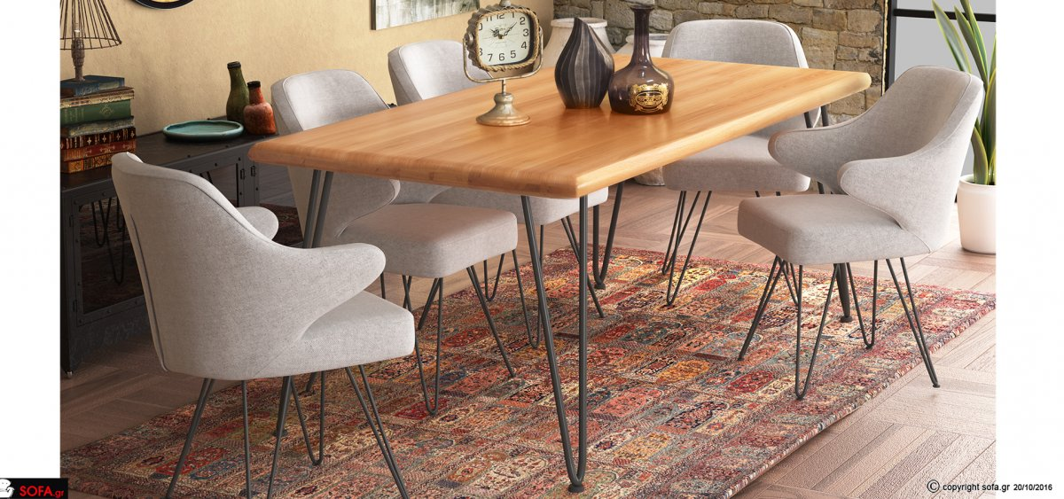Dining table set Hairpin