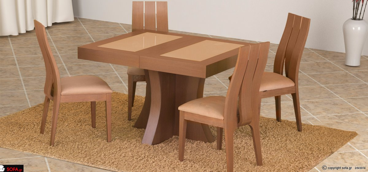 Dining table set Genova